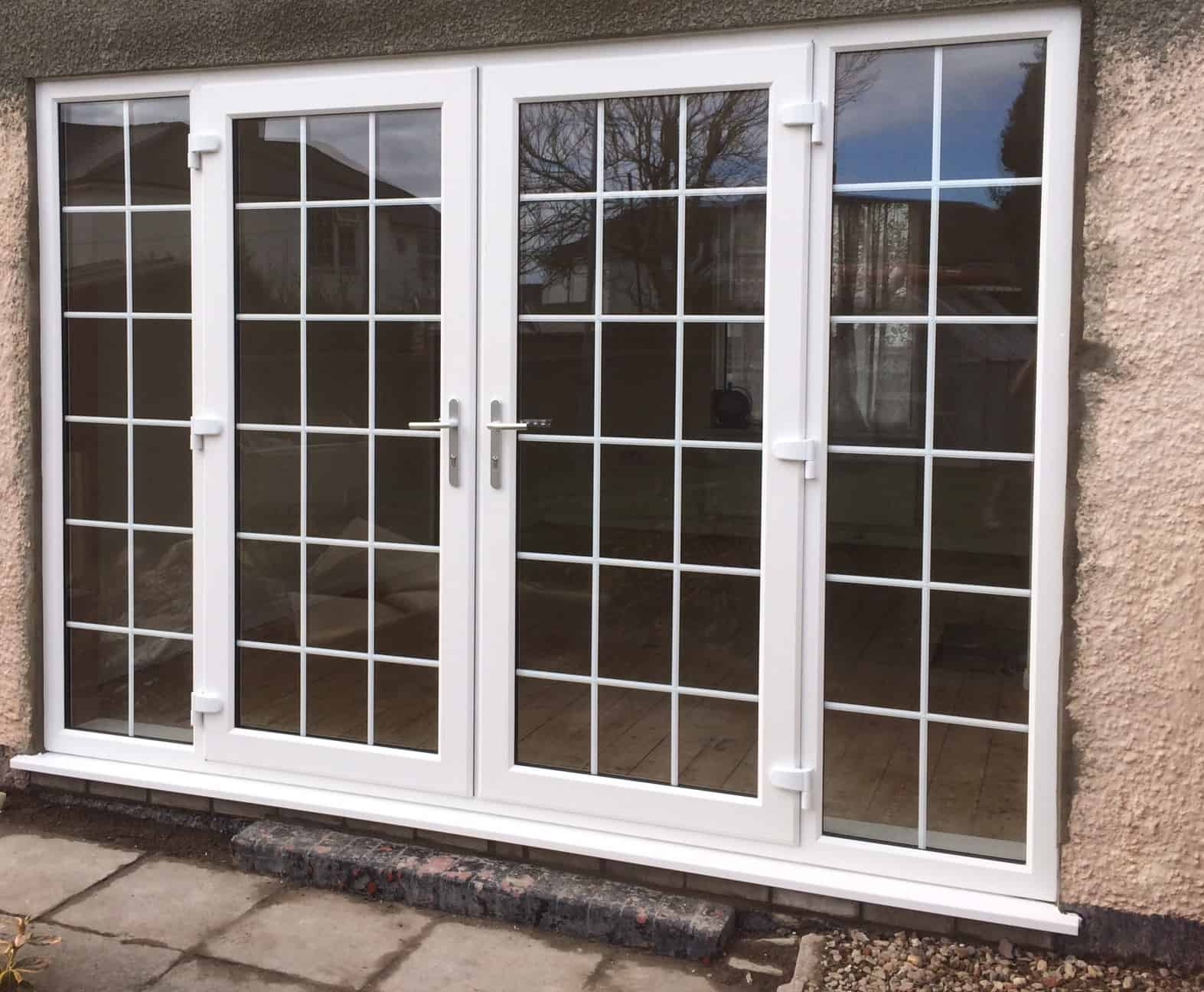 Double glazed doors newport upvc doors inspire for Double glazed upvc patio doors
