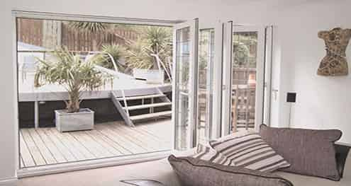 bi-folding uPVC doors newport