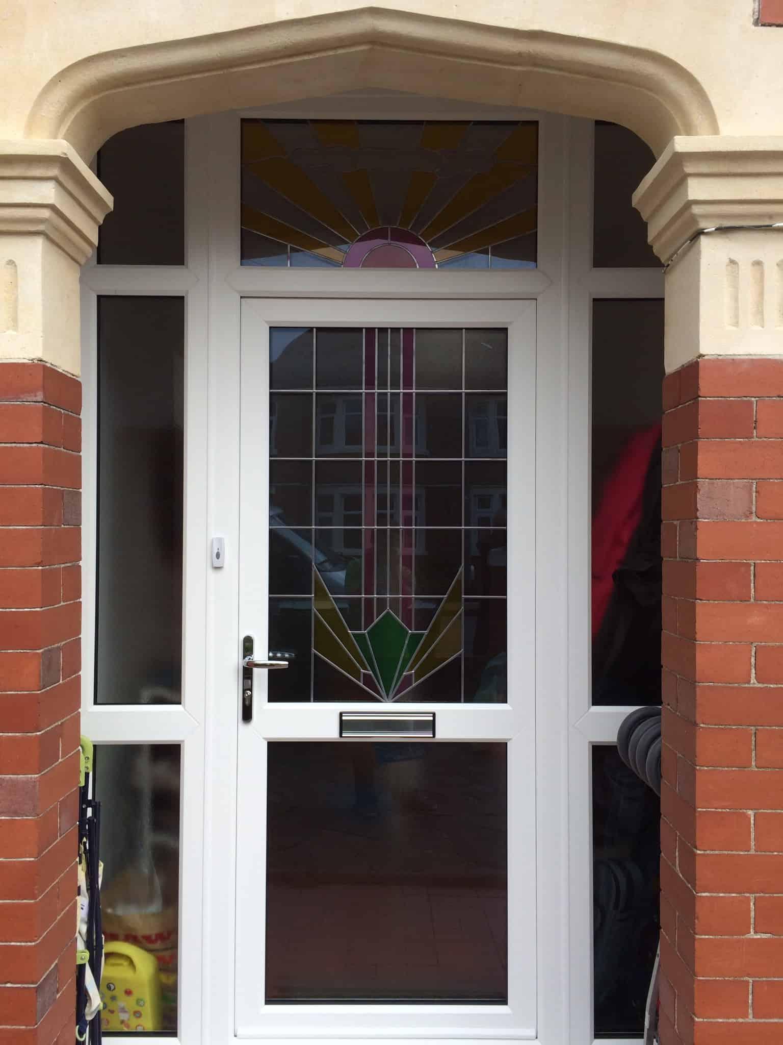 Upvc door range newport exterior doors front doors for Upvc double front doors