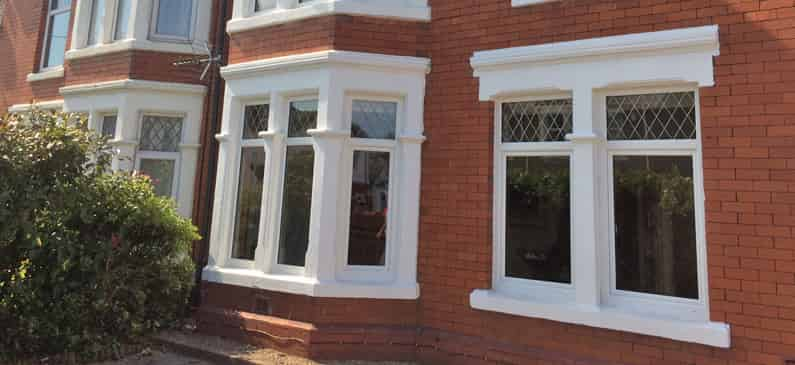 UPVC Windows In Victorian House