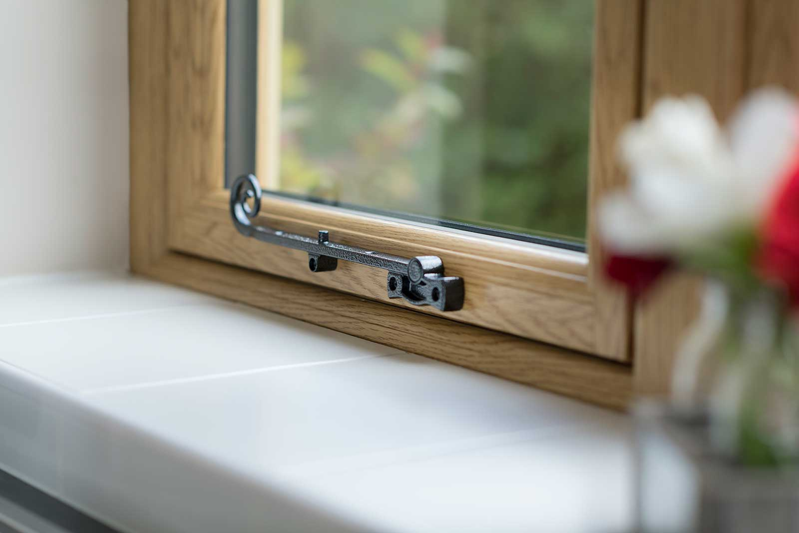 Flush Sash with monkey handles Cardiff
