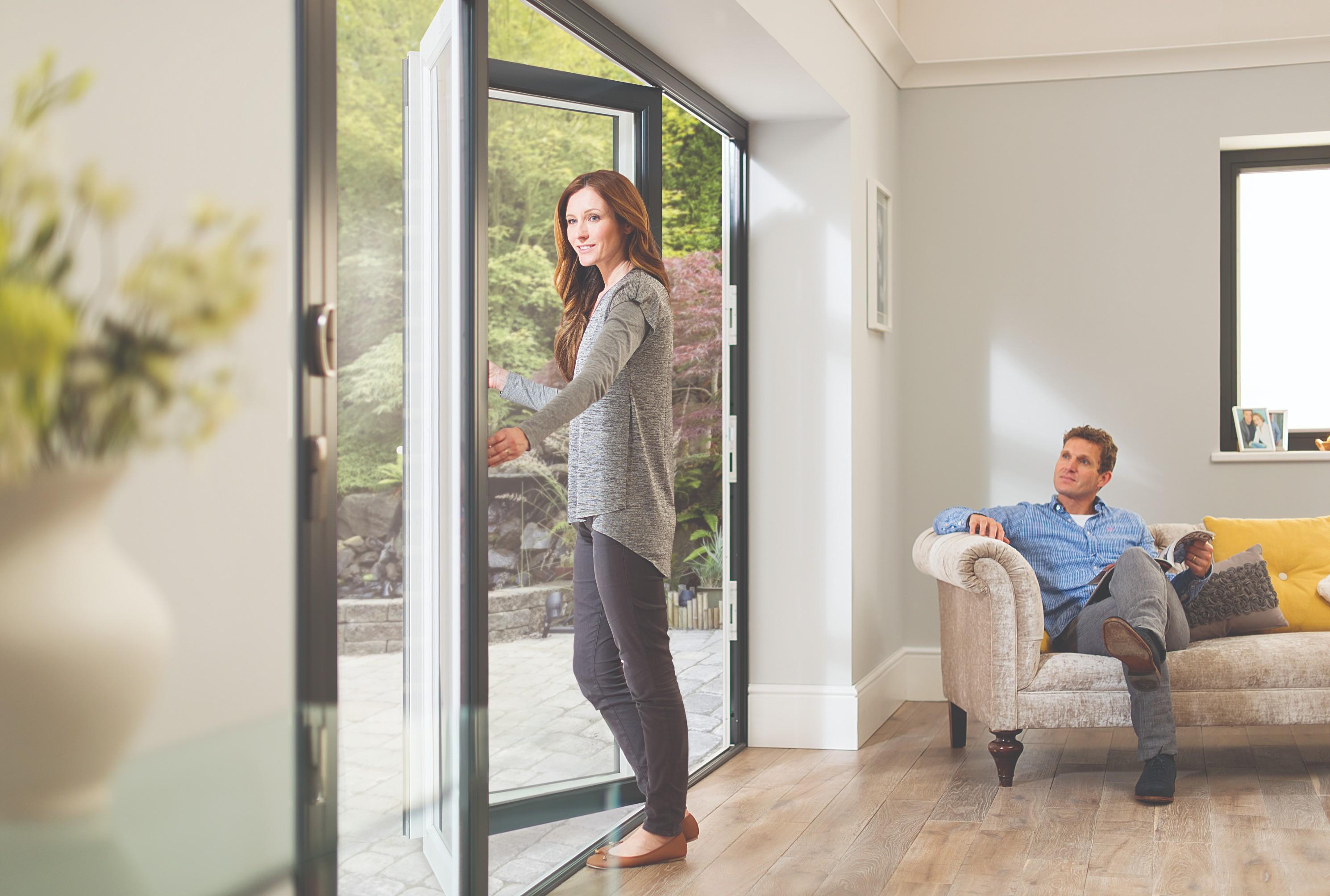Aluminium bi-fold doors cardiff